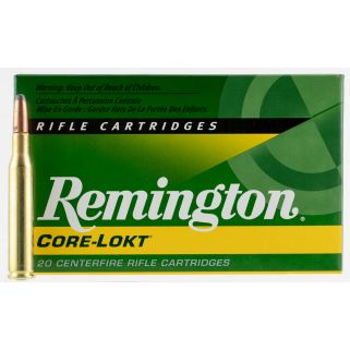 Remington Core-Lokt 270WIN 150 Grain Brass 20 Round Box R270W4