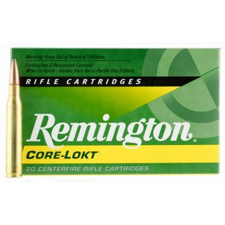 Remington Core-Lokt 280 Remington 150 Grain Brass 20 Round Box R280R1