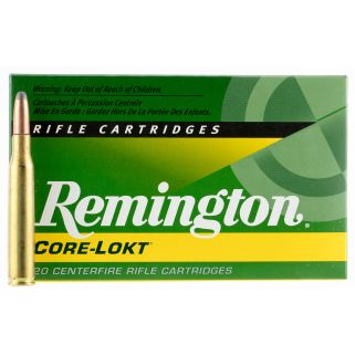 Remington Core-Lokt 280 Remington 165 Grain Brass 20 Round Box R280R2