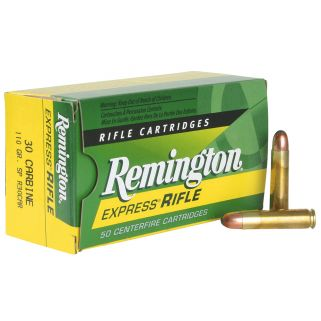 Remington Standard Rifle 30 Carbine 110 Grain Brass 50 Round Box R30CAR