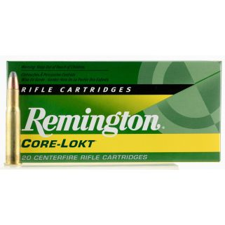 Remington Core-Lokt 30-30 Winchester 150 Grain Brass 20 Round Box R30301
