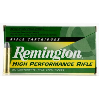 Remington High Performance Rifle 32-20 Winchester 100 Grain Brass 50 Round Box R32201