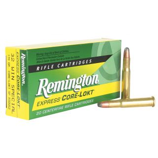 Remington Core-Lokt 32 Winchester Special 170 Grain Brass 20 Round Box R32WS2