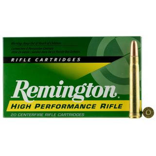 Remington Hight Performance Rifle 375 Holland & Holland Magnum 270 Grain Brass 20 Round Box R375M1