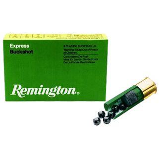"""Remington Express Buckshot 12 Gauge 000 Buck 2.75"""" 5 Round Box 12BK000"""