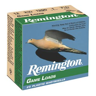 "Remington Game Load 12 Gauge 2.75"" 25Rd Box GL126"