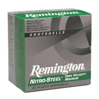"Remington Nitro Steel 12 Gauge 3 Shot 3"" 25 Round Box NS12M3"