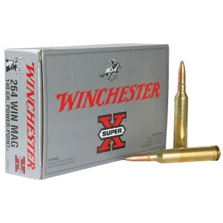 Winchester Super-X 264WIN Magnum 140 Grain 20 Round Box X2642