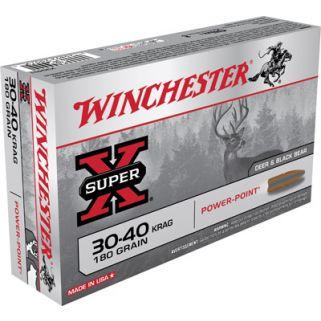 Winchester Super-X 30-40 Krag 180 Grain 20 Round Box X30401