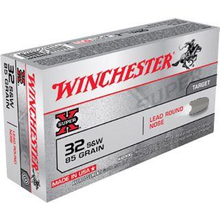 Winchester Super-X 32S&W 85 Grain 50 Round Box X32SWP