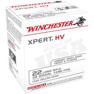 Winchester Xpert HV 22LR 36 Grain 500 Round Box XPERT22