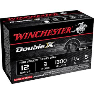 "Winchester Supreme HV Turkey Load 12 Gauge 5 Shot 3"" 10 Round Box STH1235"