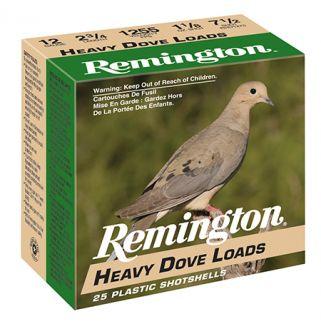 "Remington Heavy Dove Loads 12 Gauge 7.5 Shot 2.75"" 25 Round Box RHD1275"