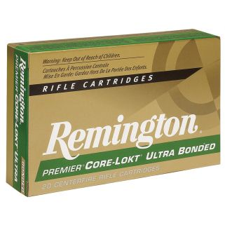 Remington Core-Lokt 7mm Remington Short Action Ultra Magnum 150 Grain Brass 20 Round Box PR7SM2