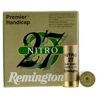"Remington Shot-to-Shot Target Load 12 Gauge 7.5 Shot 2.75"" 25 Round Box STS12NH17"
