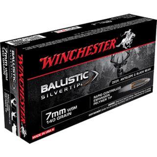 Winchester Supreme Ballistic Silvertip 7mmWSM 140 Grain 20 Round Box SBST7MMS