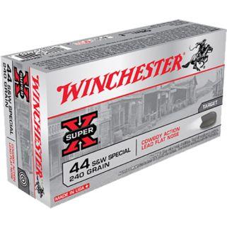Winchester USA Cowboy 44 Special 240 Grain Lead 50 Round Box USA44CB