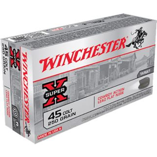 Winchester USA Cowboy 45 Colt 250 Grain Lead 50 Round Box USA45CB