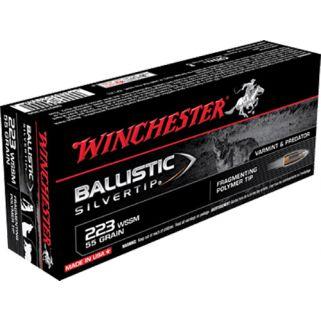 Winchester Ballistic Silvertip 223WSSM 55 Grain 20 Round Box SBST223SS