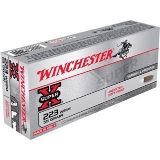 Winchester Super-X 223WSSM 55 Grain 20 Round Box X223WSS