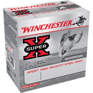 """Winchester Xpert Steel Shot 12 Gauge 4 Shot 2.75"""" 25 Round Box WEX124"""