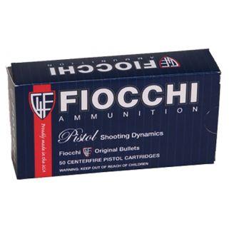 Fiocchi Shooting Dynamics 9mm 124 Grain JHP 50 Round Box 9APBHP