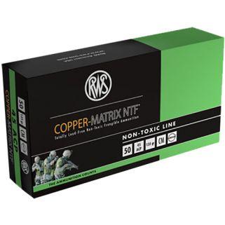 RWS 204540050 COP MAT 45ACP 135 50/10