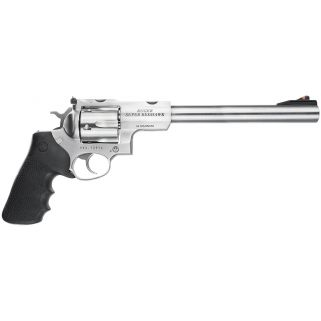 """Ruger Super Redhawk Standard 44 Remington Magnum 9.5"""" Barrel 6Rd Black Hogue Tamer Monogrip/Stainless Steel 5502"""