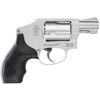 "Smith & Wesson 642 Airweight 38 Special 1.875"" Barrel 5Rd Black Synthetic Grip/Stainless 103810"