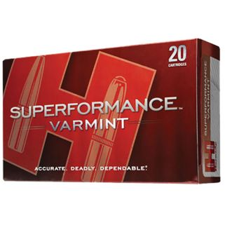 Hornady Superformance Varmint 222 Remington 50 Grain V-Max 20 Round Box 8316