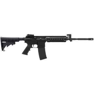"Colt AR-15 M4 223 Remington/5.56NATO 16"" Barrel W/ A2 Fixed Front-Flip Up Rear 30+1 Black LE6940"