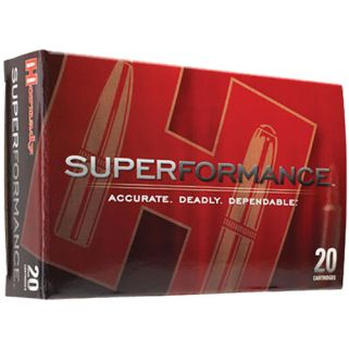 Hornady Superformance 7mm Remington Magnum 162 Grain SST SP 20 Round Box 80633