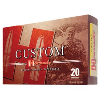 Hornady Custom 7mm Remington Magnum 162 Grain BTSP 20 Round Box 8063