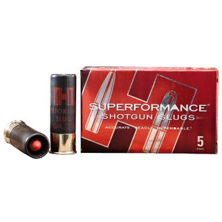 "Hornady Superformance 20 Gauge Slug Shot 2.75"" 5 Round Box 86237"