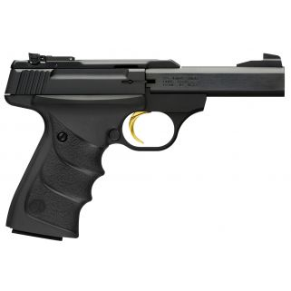 "Browning Buck Mark 22LR 7.25"" Barrel W/ TruGlo Fiber Optic-Pro Target Sights 10+1 *CA Compliant* Matte Black/Anodized Gray 051462490"