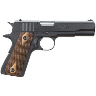 "Browning 1911-22 A1 22LR 4.25"" Barrel W/A1 Sights 10+1 *CA Compliant* Checkered Wood Grip/Black 051802490"