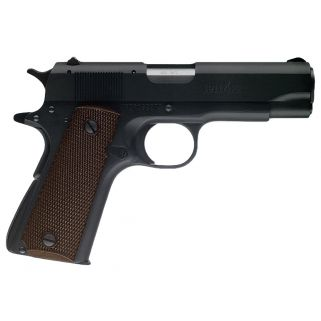 """Browning 1911-22 A1 Compact 22LR 3.625"""" Barrel W/A1 Sights 10+1 Checkered Wood Grip/Black 051803490"""