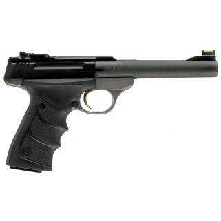 """Browning Buck Mark Practical 22LR 5.5"""" Barrel W/ TruGlo Fiber Optic-Pro Target Sights 10+1 Matte Blued 051448490"""