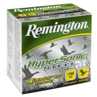 "Remington HyperSonic Steel 10 Gauge BB Shot 3.5"" 25 Round Box HSS10B"