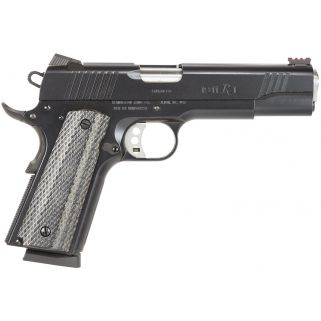 "Remington 1911 R1 Enhanced 45ACP 5"" Barrel W/ Fiber Optic Sights 8+1 Walnut Grips/Black 96328"