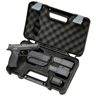 """Smith & Wesson M&P 9mm Luger 4.25"""" Barrel 10+1 Carry and Range Kit *MA Compliant* 13935"""