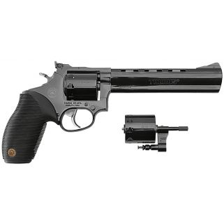 "Taurus 992 Tracker 22LR/22 Magnum 4"" Barrel 9 Rubber Grip Overlay/Blued 2992041"