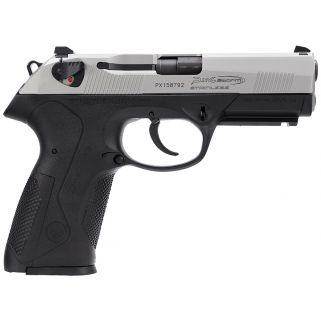 """Beretta Px4 Storm Inox 9mm Luger 4"""" Barrel 10+1 Black/Stainless JXF9F50"""
