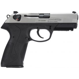 """Beretta Px4 Storm Inox 40S&W 4"""" Barrel 10+1 Black/Stainless JXF4F50"""
