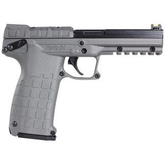 """Kel-Tec PMR-30 22WMR 4.3"""" Barrel W/ Fiber Optic Sights 30+1 Tactical Grey/Black PMR30TACGY"""