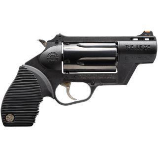 "Taurus 45/410 Public Defender 45 Colt/410 Gauge 2"" Barrel 5Rd Black Rubber Grip/Black 2441021PFS"