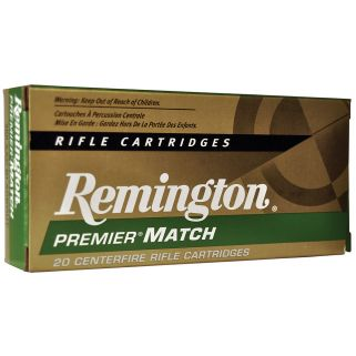 Remington Premier Match 300 AAC Blackout/Whisper 125 Grain Brass 20 Round Box RM300AAC6