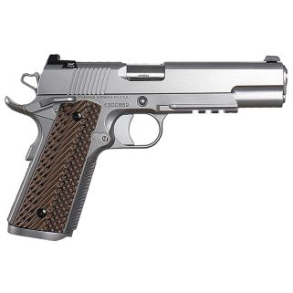 "Dan Wesson 1911 Specialist 45ACP 5"" Barrel W/ Night Sights 8+1 G10 Grip/Stainless 01993"