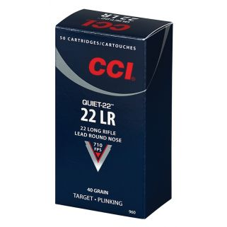 CCI 960 22LR 40 LRN QUIET 22 50/100