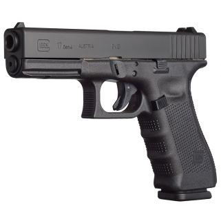 """Glock G17 MOS Gen 4 9mm Luger 4.48"""" Barrel 10+1 Fixed Sights PG1750201MOS"""